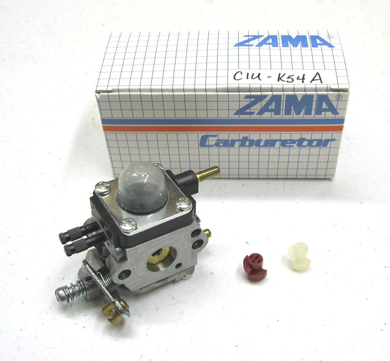 amazon com: zama genuine carburetor c1u-k54a for mantis tiller and other  applications: garden & outdoor