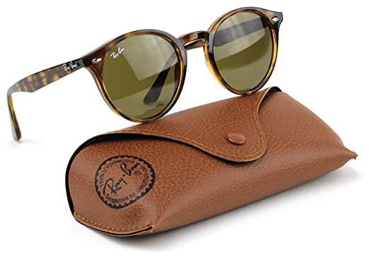 639266dee41ab2 Ray-Ban RB2180 710 73 Highstreet Sunglasses Tortoise Frame   Dark Brown  Lens 49mm  Amazon.co.uk  Clothing