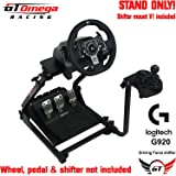 GT Omega Steering Wheel stand PRO suitable For Logitech G920 Driving Force Racing Wheel and Shifter