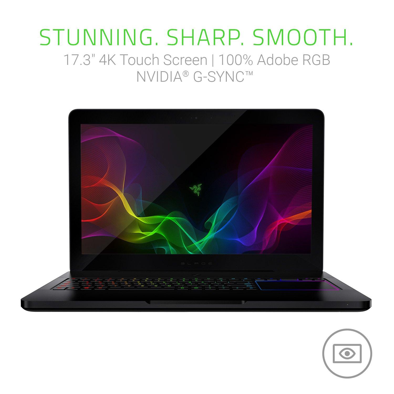 amazon com razer blade pro 17 3 4k ultra hd touch screen laptop rh amazon com