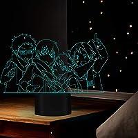 3D Lamp Anime Haikyuu Tendou Satori Licht voor Kids Kind Slaapkamer Decor Nachtlampje Verjaardagscadeau Manga Gadget…