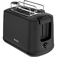 Tefal TT165N Principio Select Broodrooster (850 Watt, 7 bruiningsniveaus, kruimellade, heffunctie, opzetstuk voor…