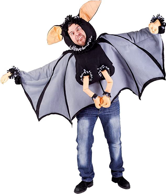 Nines dOnil Export - Disfraz de murciélago para adultos, color ...