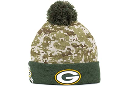 6ec1d508126 Green bay packers new era sideline salute to service sport knit jpg 425x283  Camouflage packer stocking