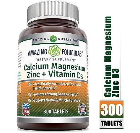 Amazon.com: NATURELO Bone Strength – Calcio, magnesio ...
