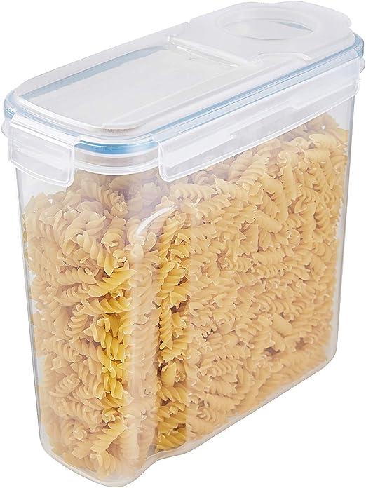 THETIS Recipiente de almacenamiento de cereales 1pc– grandes latas ...