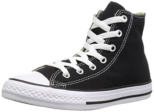Converse Unisex Adulti Chuck Taylor All Star Hi Top Scarpe Da Ginnastica Nero UK 18