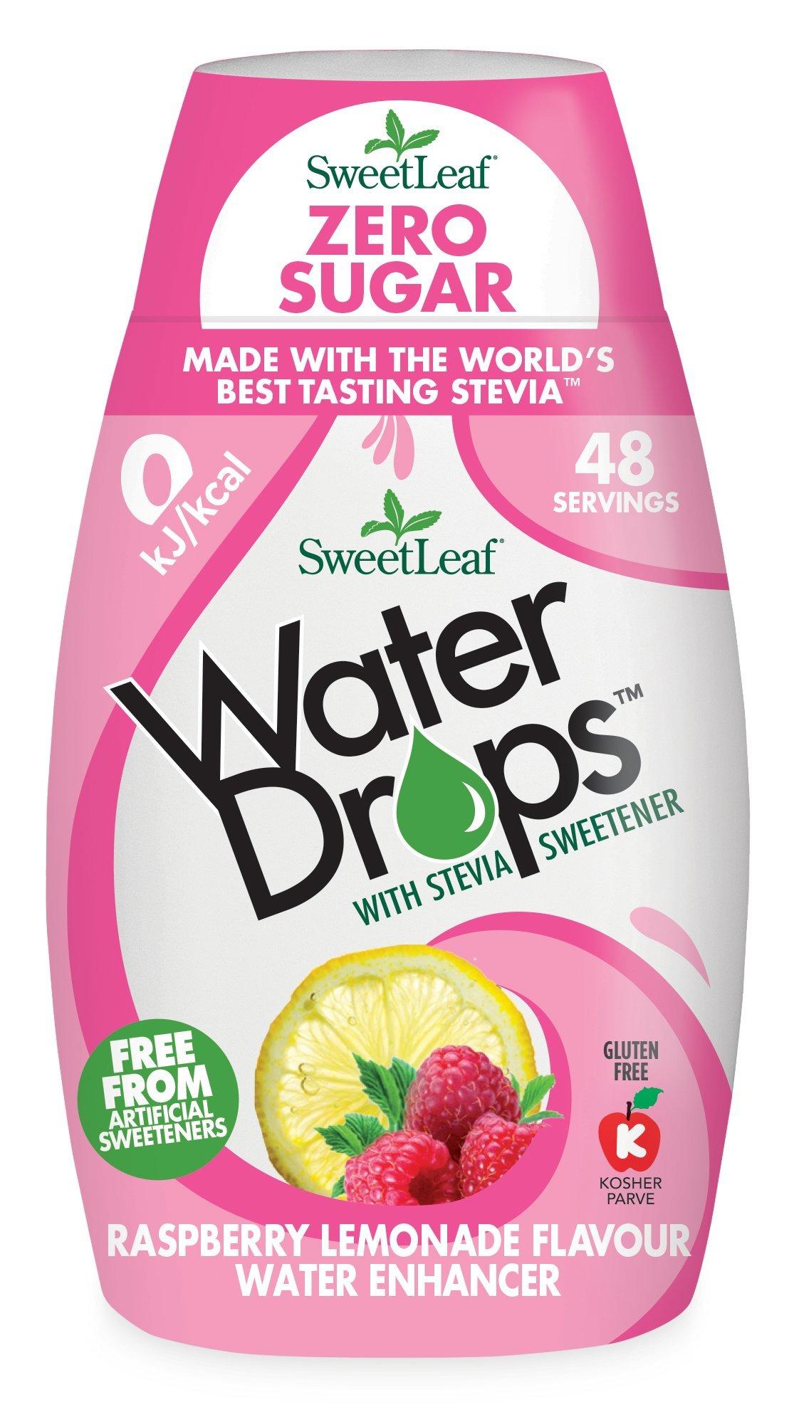 SweetLeaf Water Drops Raspberry Lemonade Flavoured Water Enhancer, 48 ml