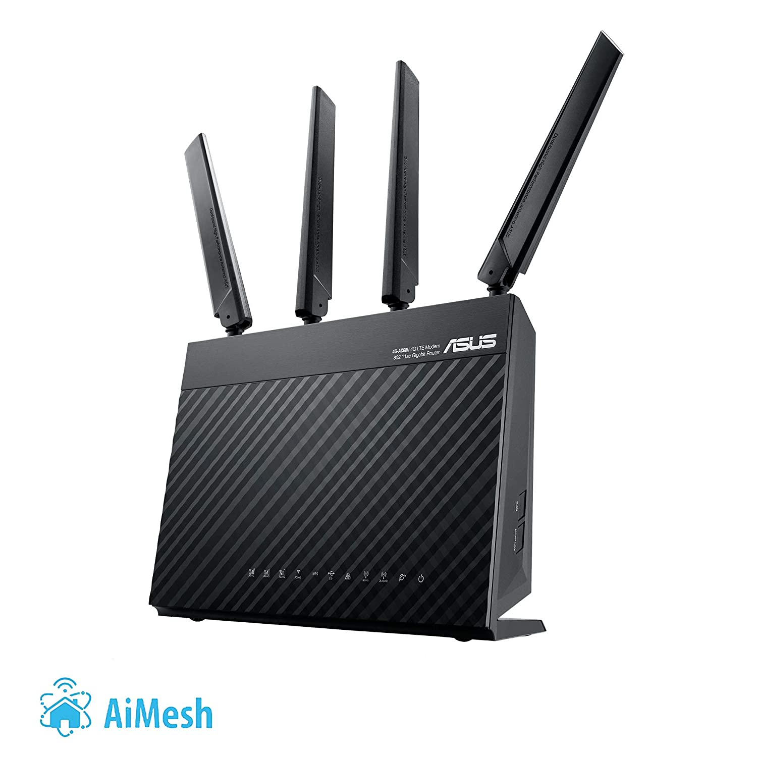 Asus 4g Ac68u Ac1900 Wifi Router With Modem Electronics Huawei B315 Lte 150mbps Home Wireless Hotspot