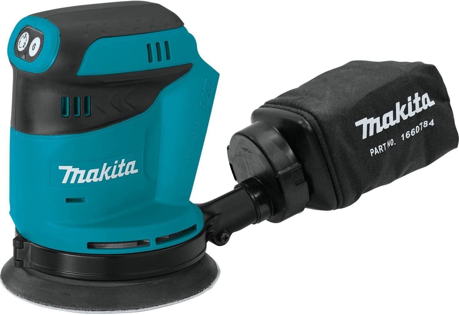Makita XOB01Z 18V LXT Lithium-Ion Cordless 5 Random Orbit Sander, Tool Only