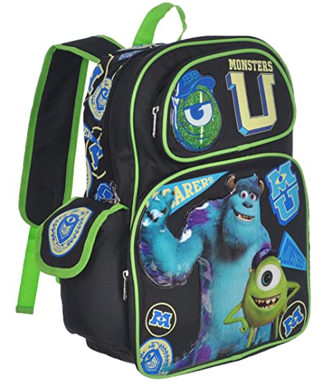 97608e287b0 Image Unavailable. Image not available for. Color  Disney Monsters  University 16 quot  Large School Backpack