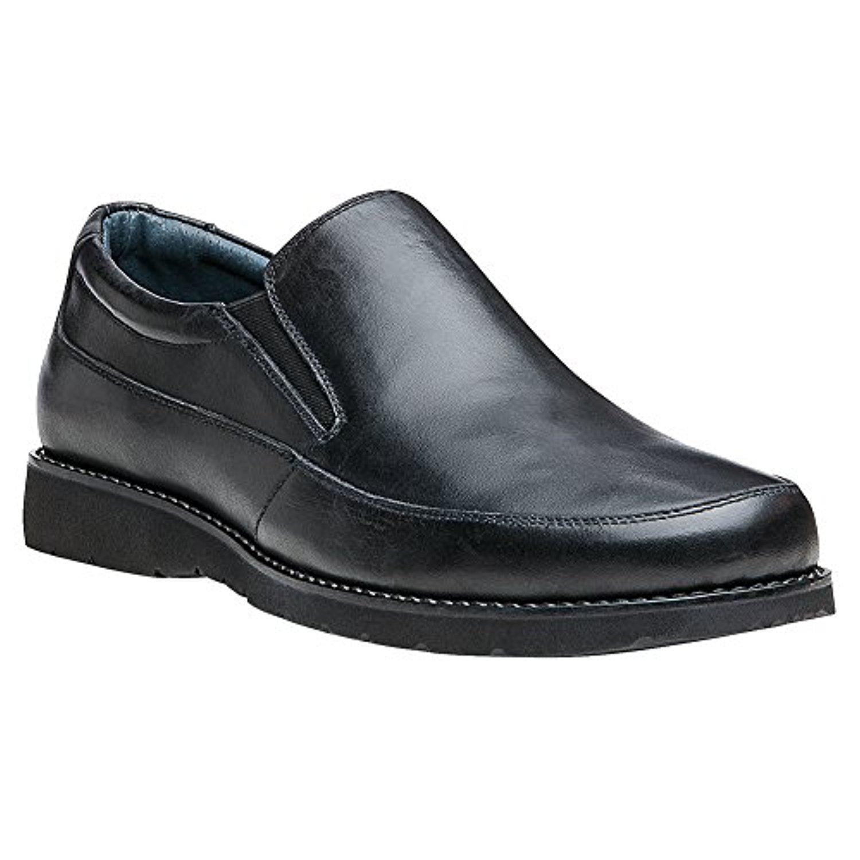 Propet Men's Grant Shoe Black 9.5 X (3E) & Oxy Cleaner Bundle