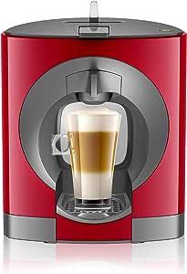 Nescafé Dolce Gusto Oblo Automatic Coffee Machine, Dark Red, NCU200RED