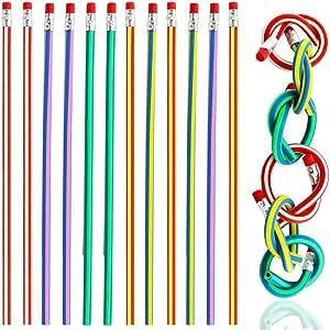 Paquete de 20 lápices de colores TXY flexibles y suaves