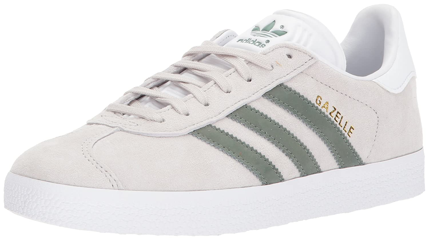 adidas gazelle ii green gold suede trainers adidas womens white athletic shoes