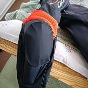 Small Held Patch Lederabdeckung f/ür Knee Sliders Black