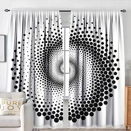 NUOMANAN Cortina de Ventana Abstracta Impermeable, diseño de ...