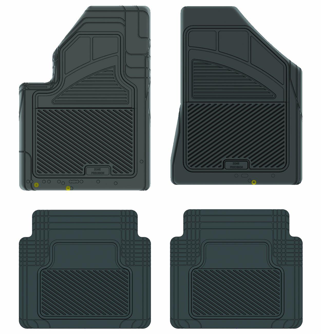 1103012 Custom Fit Car Mat 4PC PantsSaver Gray