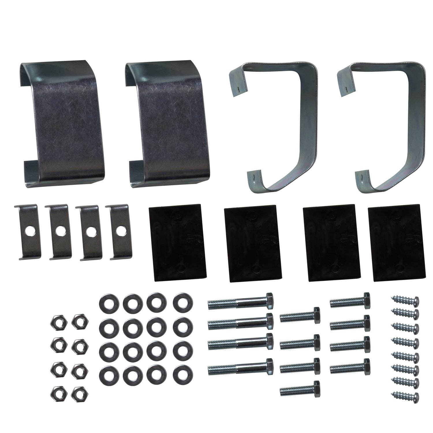 OxGord Aluminum Side Step Set Nerf Bar Best for 2002-2006 Chevrolet Avalanche 1500 for Assistance in Entering & Exiting – Max Capacity Weight 350 lbs by OxGord (Image #7)
