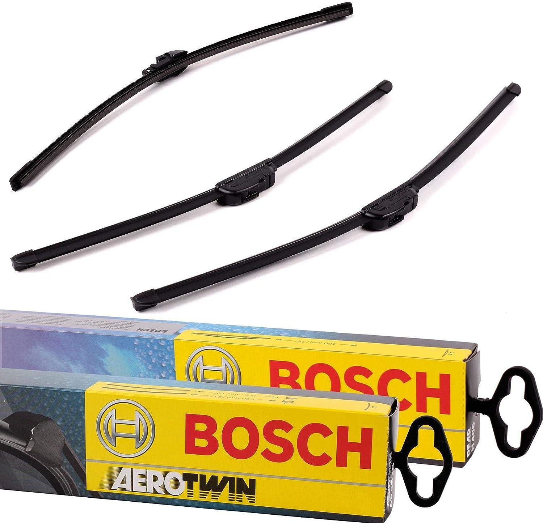Bosch A555s A282h Komplettsatz Vorne Hinten Scheibenwischer WischblÄtter Auto