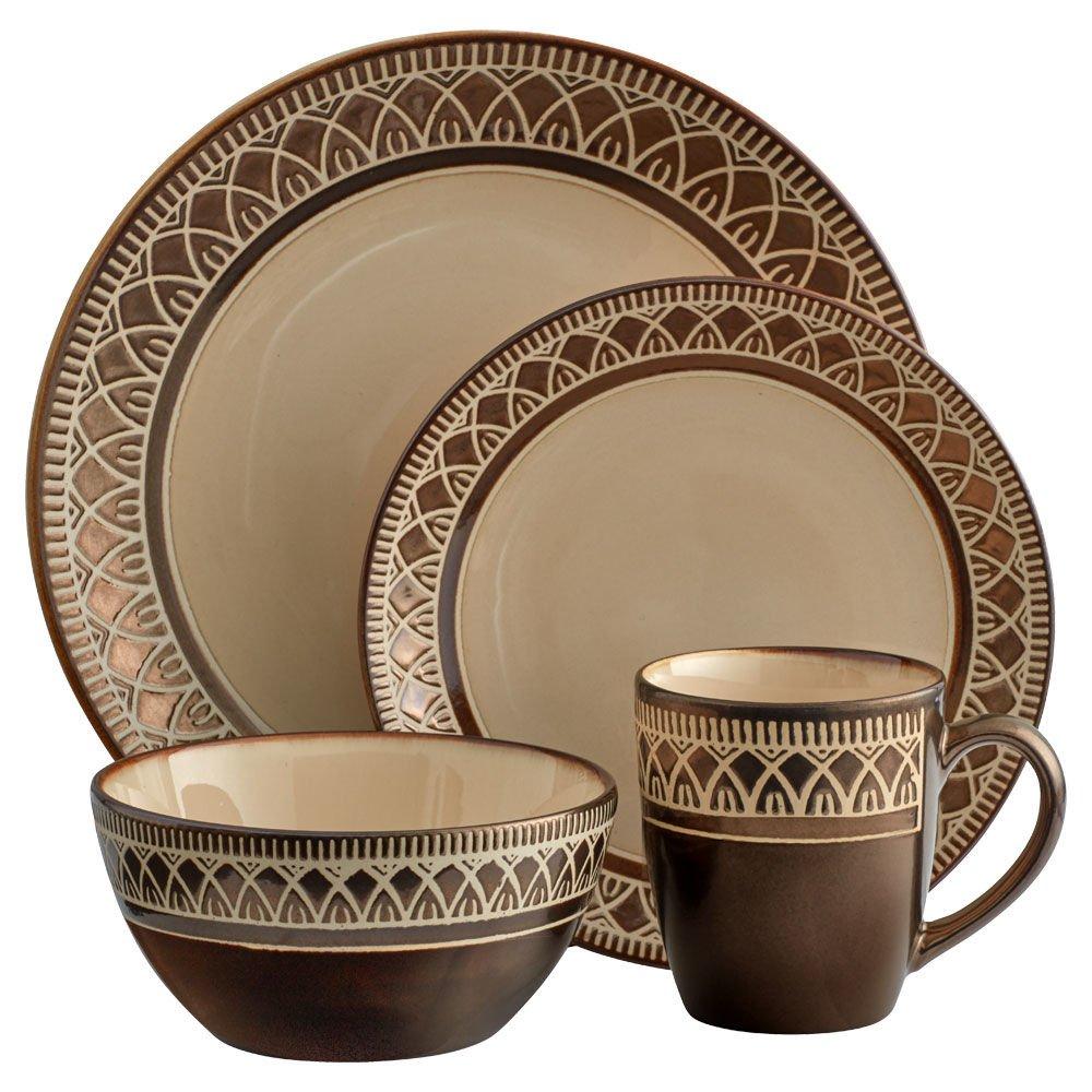 Gourmet Basics KingstonDinnerware Set (48 Piece)