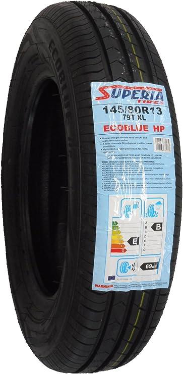 Superia Ecoblue HP XL 145//80R13 79T Sommerreifen