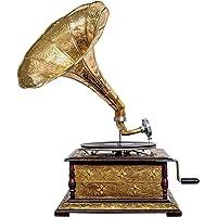 Nostalgia gramófono gramófono Embudo de Estilo Antiguo decoración