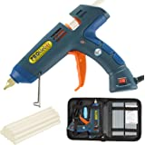 Hot Melt Glue Gun Kit 100 Watt with Carry Bag and 12 pcs Glue Sticks, for DIY, Arts & Crafts Projects, Sealing and Quick…