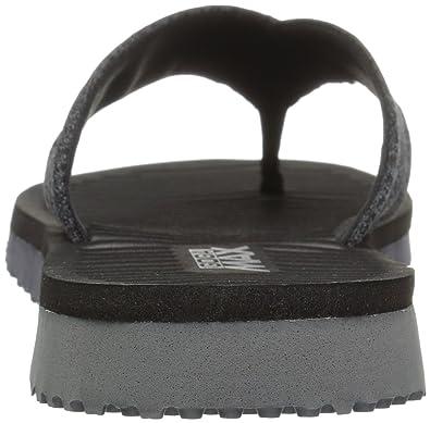 Buy Skechers Women's Go Flex Solana Flip Flop BlackGray at