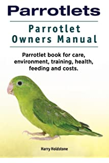 parrotlet handbook barron s pet handbooks sandee molenda