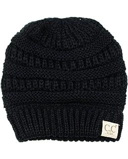 C.C Kids Cute Warm and Comfy Childrens Knit Ski Beanie Hat