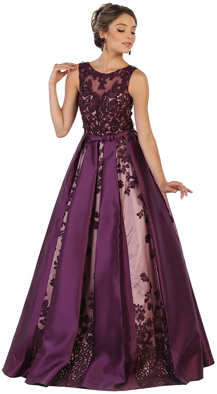 Royal Queen RQ7516 Marine Corps Ball Formal Gown at Amazon Womens Clothing store: