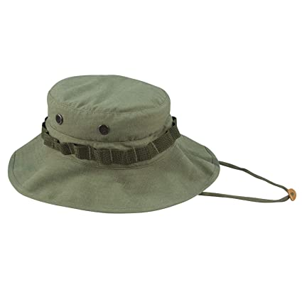 447b203d5c167 Amazon.com  Rothco Vintage Vietnam Style Boonie Hat  Sports   Outdoors