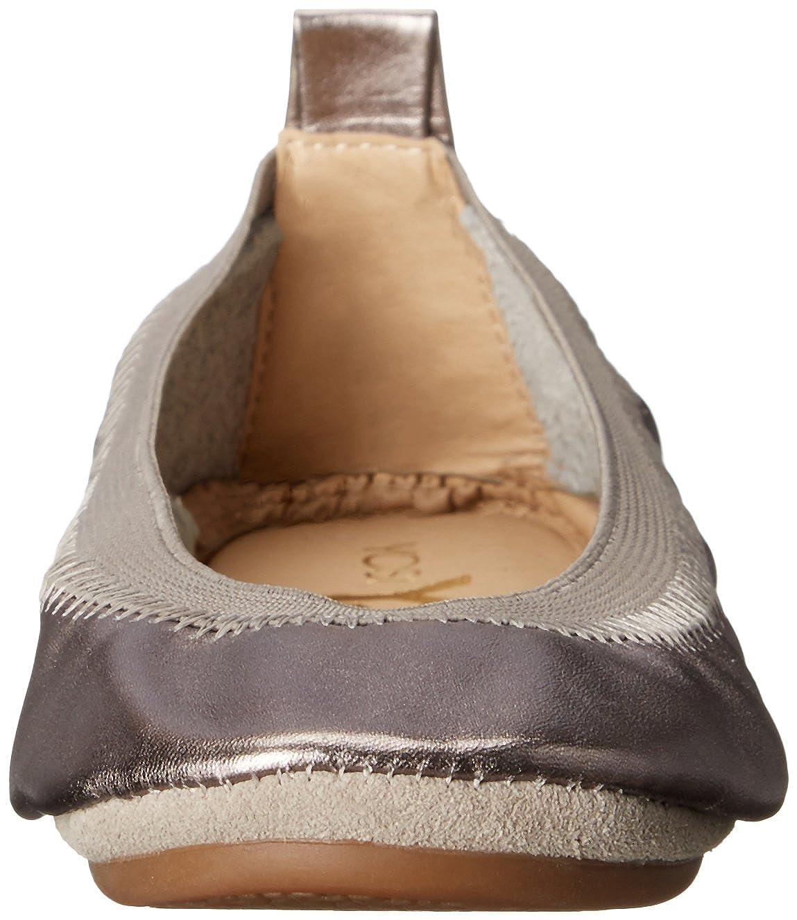 Yosi Samra Kids Sammie Metallic Ballet Flat KSM-161-000