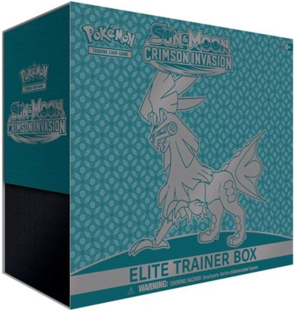Pokemon Sun and Moon Crimson Invasion Elite Trainer Box Collectible Cards, Multicolor (820650802607-1)