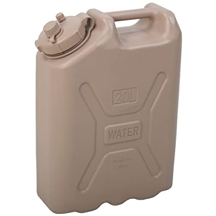 Camping Water Container >> Amazon Com 20 Liter Heavy Duty Water Container Camping Canteens