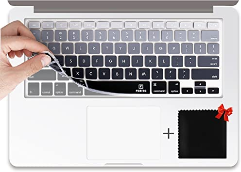 Soft Silicon Rubber Keyboard Skin Cover for MacBook Air//Pro Retina 13 Inch