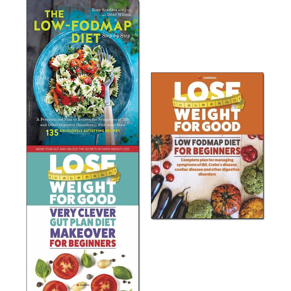 Read Online Low-fodmap diet step by step, lose weight for good very clever gut plan diet makeover and low fodmap diet for beginners 3 books collection set ebook