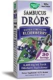 Nature's Way Sambucus Drops Ultra-Strength Elderberry Liquid, 1 Fluid Ounce