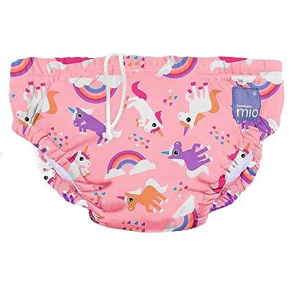 Bambino Mio - Pañal bañador reutilizable multicolor Unicorn Talla:Pequeños (0-6 meses