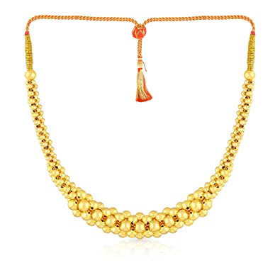 Buy Malabar Gold and Diamonds Tushi Collection 22k 916 Yellow
