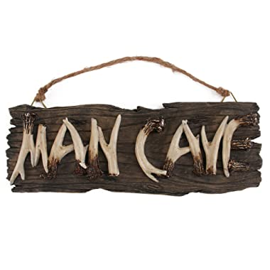 Liberty Imports Man Cave Sign Decorative Mancave Wooden Novelty Wall Decor