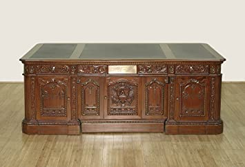 Models White House Oval Office Desk Jfk Jr Peeking Out Panel In
