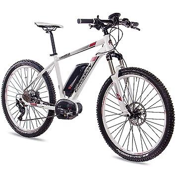 Chrisson 275 Zoll E Bike Mountainbike Bosch E Mounter 20 Weiss