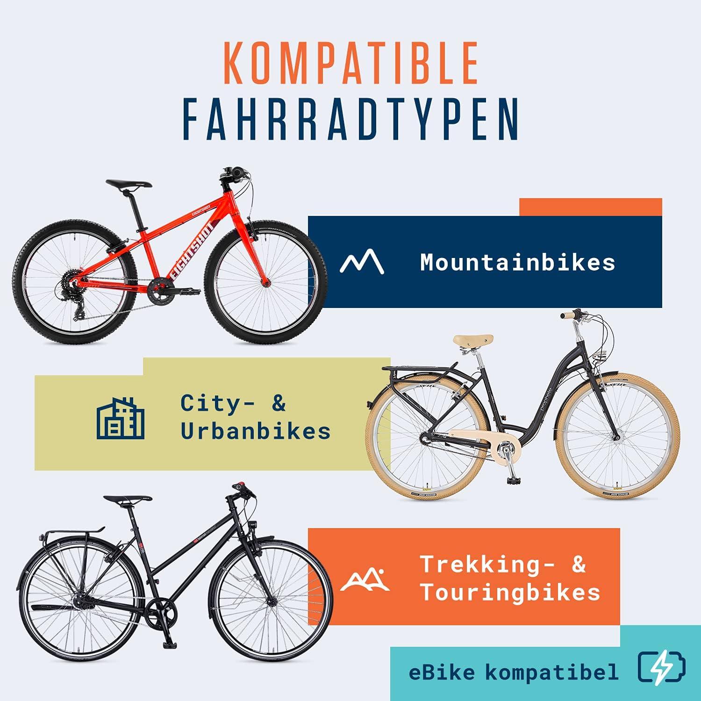 Fahrrad Bremsbeläge V-Bremsen MTB Trekking 72mm All Wetter Gummi Paar