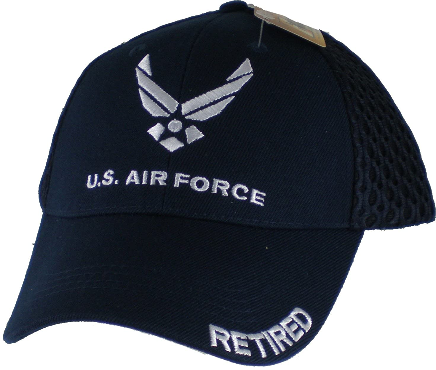 75809b623ca U air force retired mesh cap navy blue clothing jpg 1471x1249 Air force  retired hat
