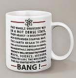 Mug The Big Bang Theory avec les paroles du générique - Kanto Factory -
