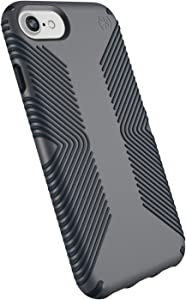 Speck Products Presidio Grip iPhone SE 2020 Case/iPhone 8, iPhone 7, iPhone 6S/6, Graphite Grey/Charcoal Grey, 25-Pack Business Packaging