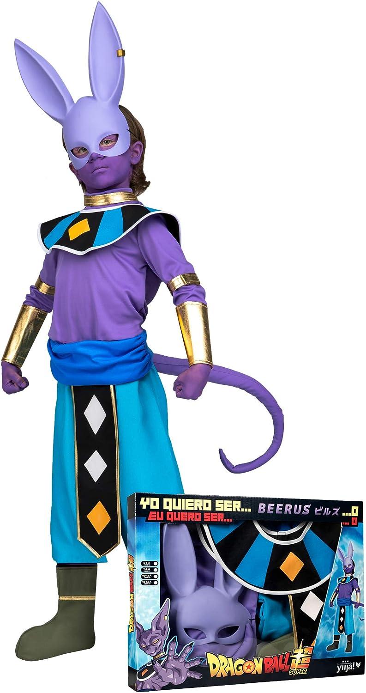 Generique - Disfraz con máscara Beerus Dragon Ball niño en Caja ...