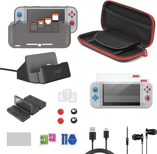 FASTSNAIL 18in1 - Juego de Accesorios para Nintendo Switch Lite 2019: Amazon.es: Electrónica